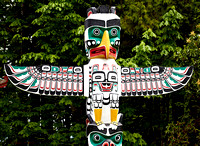 Mai : Stanley Park Totems, Vancouver