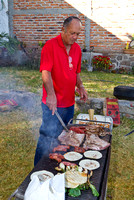 Les Mexicains adorent les grillades. -- Mexicans love barbecued meat!