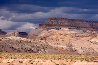 Les paysages de Capitol Reef sont époustoufflants. --- The landscapes pf Capitol Reef are awesome.
