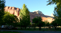 Vue du camping, toujours Fruita -- View from the campground, at Fruita