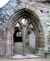 Ornate arched doorway from the Abbey Church