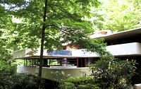 Fallingwater designed by architect Frank Lloyd Wright in 1935