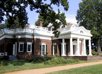Jefferson began building Monticello when he was twenty-six years old.