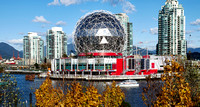 Science World Giant Silver Ball