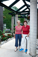 Shirley Ann and Louise in historic Guelph
