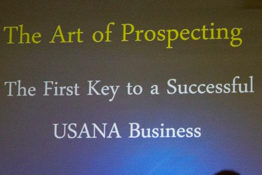 """art of prospecting"""