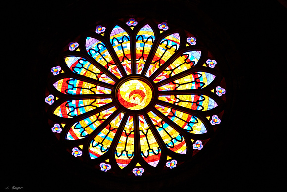 Rosace -- Rose window