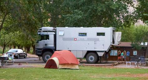 Man vs Tent
